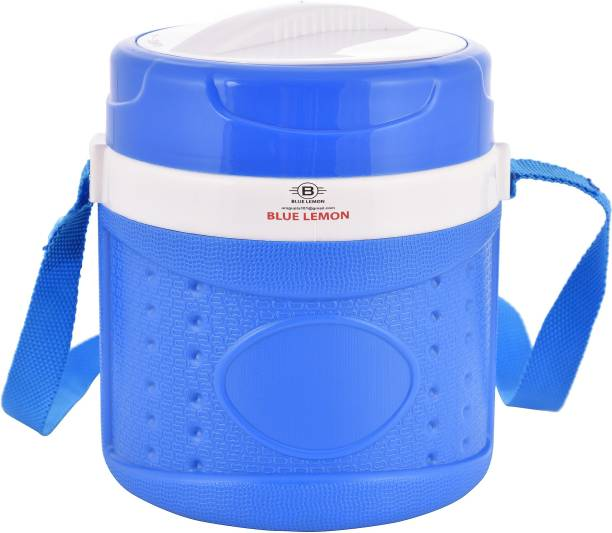 blue lemon 685288 3 Containers Lunch Box
