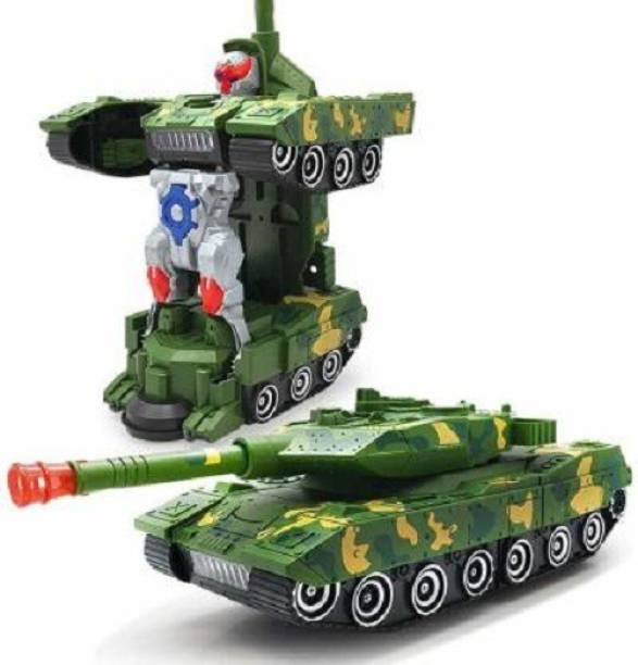 mQFIT 2-in-1 Automatic Deformation Army Robot