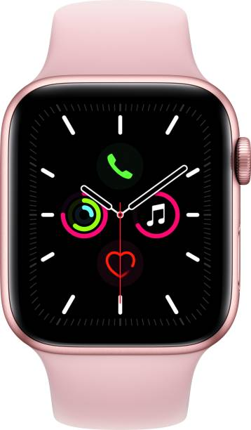 APPLE Watch Series 5 GPS + Cellular 44 mm Gold Aluminium Case with Pink Sand Sport Band