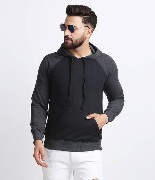 Roden Full Sleeve Color Block Men Sweatshirt