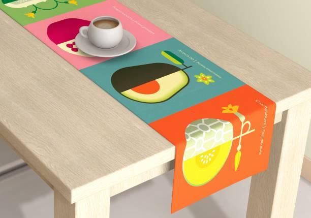 METRO LIVING Multicolor 150 cm Table Runner