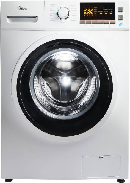 Midea 8.5 kg Magic Wash Fully Automatic Front Load with In-built Heater White