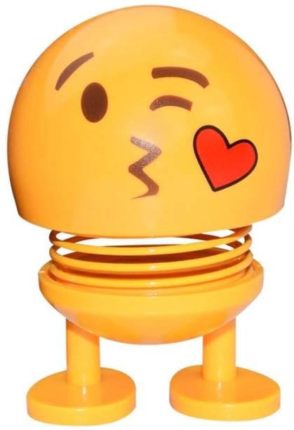 Techobucks Smiley Spring Doll Cute Emoji Bobble