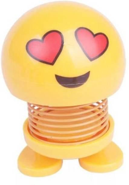 EFFULGENT shaking Emoji head dolls bouncing smiley face toys