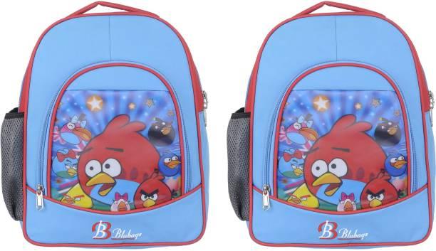 blubags Kids School Bag (Pack Of 2) School Bag