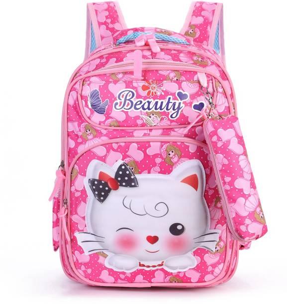 Tinytot School Backpack College Bag Travel Bag 3rd Standard onward Waterproof School Bag