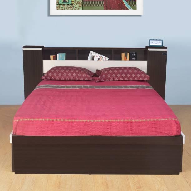 Nilkamal Empire Engineered Wood Queen Hydraulic Bed