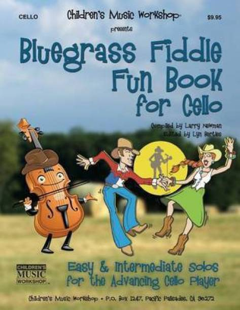 Bluegrass Fiddle Fun Book for Cello