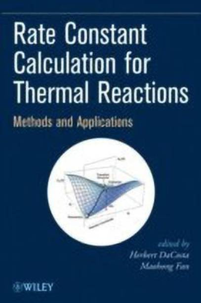 Rate Constant Calculation for Thermal Reactions
