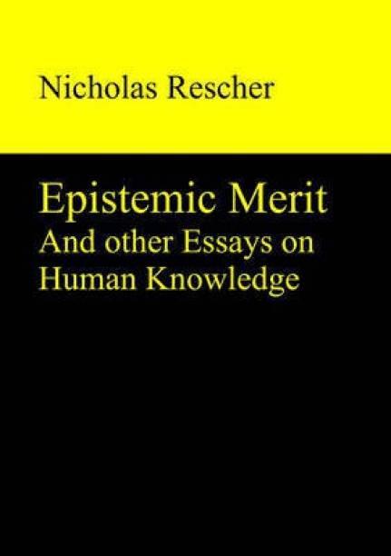 Epistemic Merit