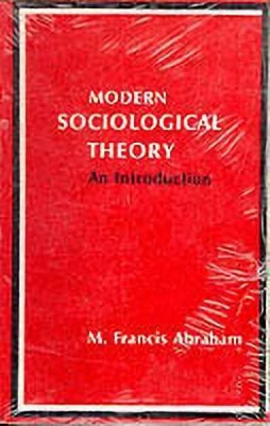 Modern Sociological Theory - An Introduction
