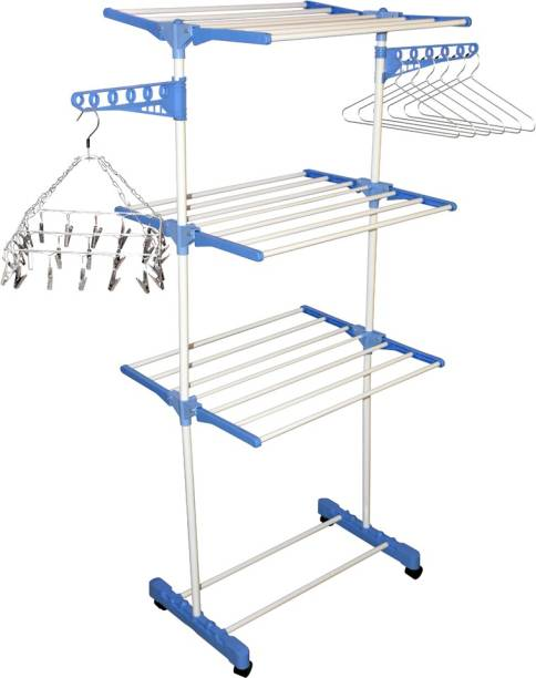Flipkart SmartBuy Steel Floor Cloth Dryer Stand 410