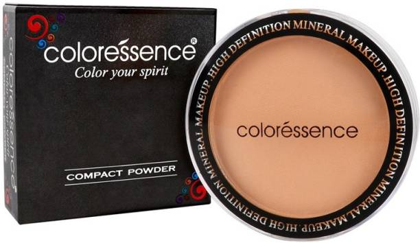 COLORESSENCE Compact Powder Compact - 10g (Dusky, CP-3) Compact