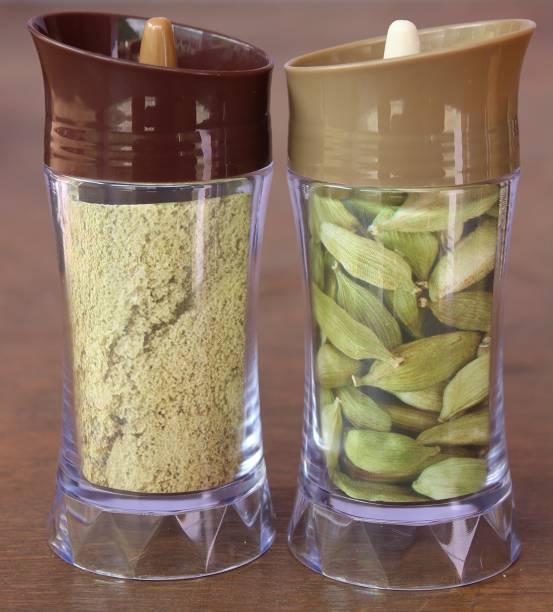batwada export 2pcs-Unbreakable Masala Box Kitchen Storage Containers 1 Piece Salt & Pepper Set