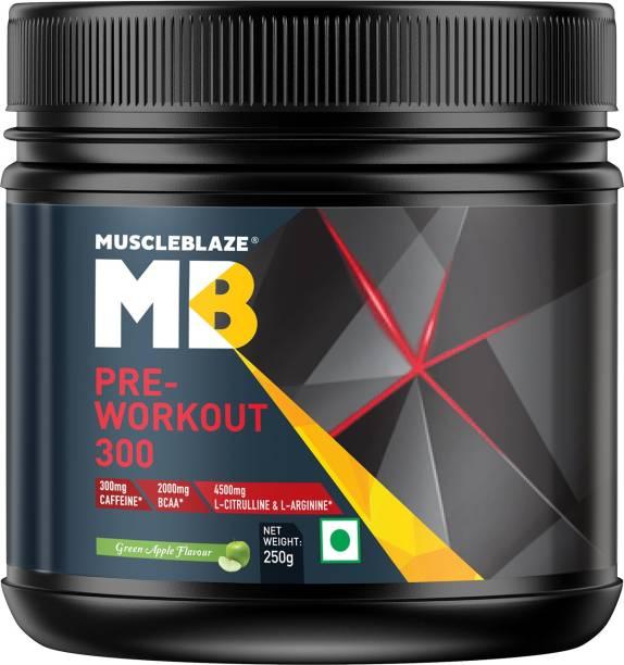 MUSCLEBLAZE Pre-Workout 300 Energy Drink