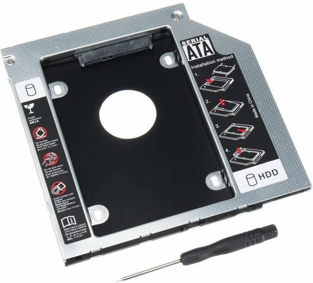 LipiWorld 12.7 mm HDD 2.5 inch 2nd Optical Bay 2. 5'' Hard Drive HDD Caddy