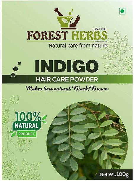 Forest Herbs 100% Pure & Natural Organic Indigo Leaf Powder 100Gms