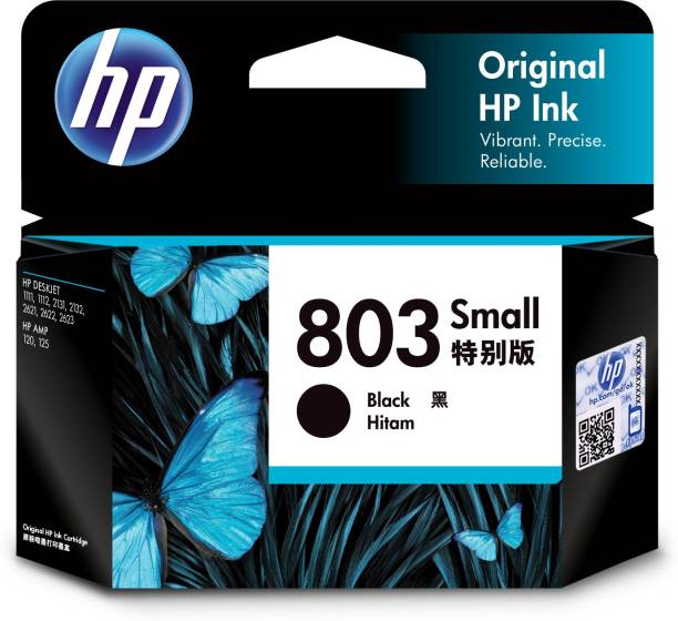 HP 803 Small Black Ink Cartridge