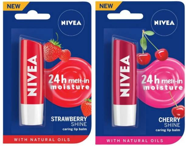 NIVEA Fruity Shine Strawberry, Cherry
