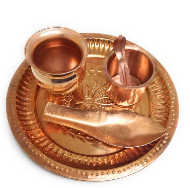 Astrosale Aachmani with Copper Puja Thaali, Tambe Ka Lota Copper