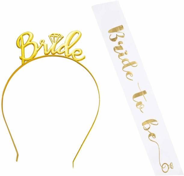 Party Propz Bride To Be Sash And Eyeglass