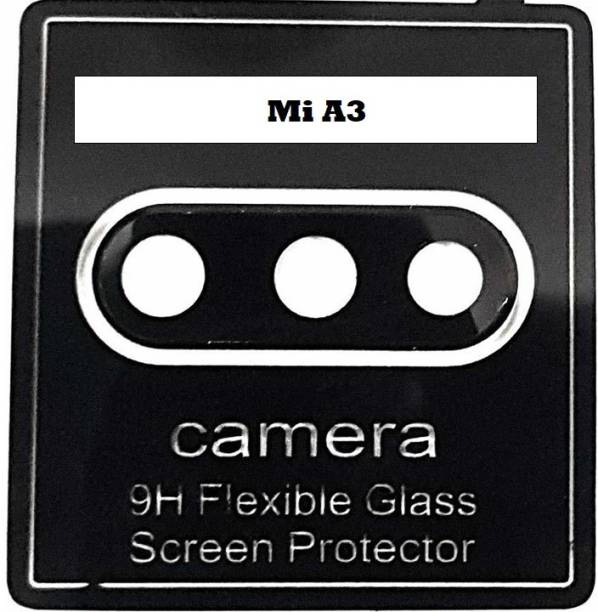 YMYTE Back Camera Lens Glass Protector for Mi A3