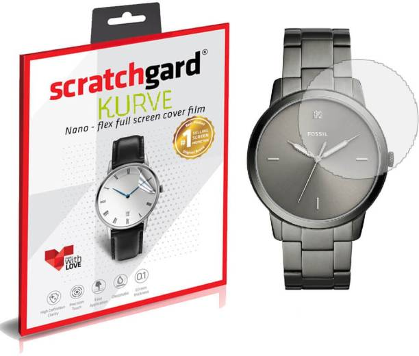 Scratchgard Nano Glass for Fossil Watch 35mm
