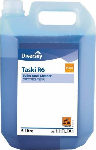Diversy TASKI R6 TOILET BOWL CLEANER - 5Ltr Regular Liquid Toilet Cleaner