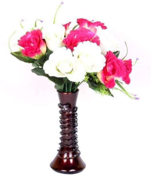 AFAST Designer Hand Decorative Glass Table Top Flower Pot Vase In New Shape Art -H28 Glass Vase
