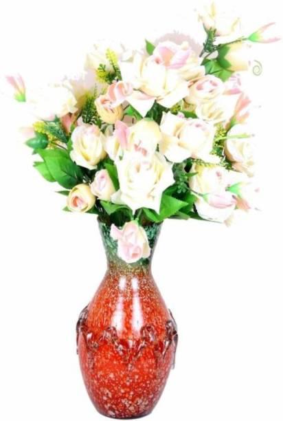 AFAST Designer Hand Decorative Glass Table Top Flower Pot Vase In New Shape Art -H19 Glass Vase