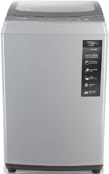 MarQ By Flipkart 8.5 kg with Turbo Wash Fully Automatic Top Load Grey