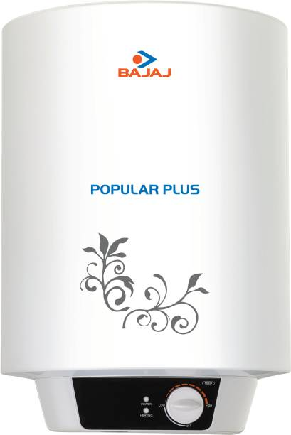 BAJAJ 25 L Storage Water Geyser (Popular Plus, White)