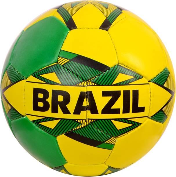 RASCO BRAZIL Machine Stitched Football under 14 yrs Football - Size: 5