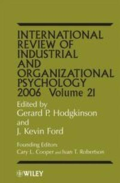 International Review of Industrial and Organizational Psychology 2006