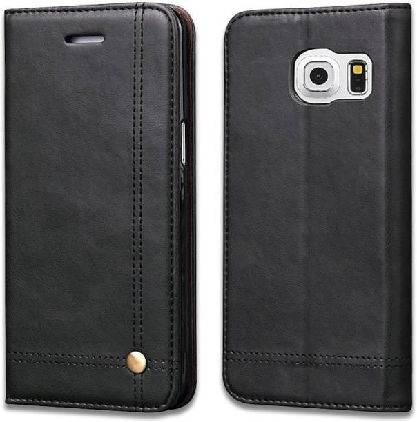Cubix Flip Cover for Samsung Galaxy S7 Edge