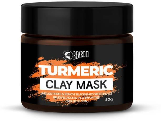BEARDO Turmeric Clay Mask for Men