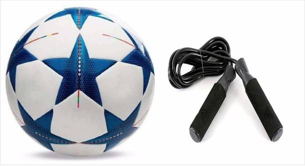 RAHICO CLUB STAR CHAMPION AND ADJUSTABLE BEARING SKIPPING ROPE for Home Football & Fitness Kit