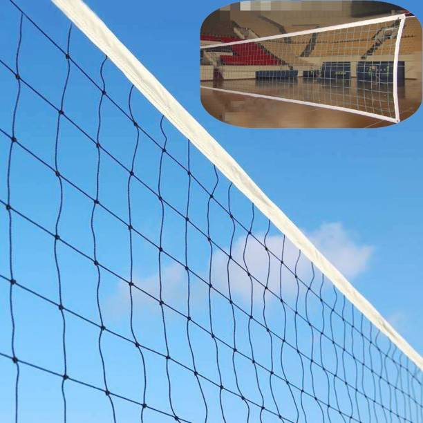 Alvi Volleyball Net Bast Quality in nylon 4 side taping Volleyball Net