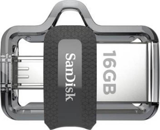 SanDisk Ultra Dual SDDD3-016G-Z46 16 GB Pen Drive