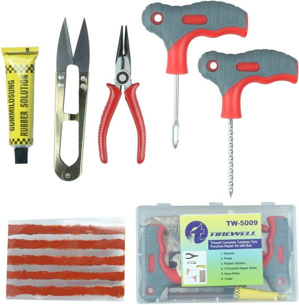 TIREWELL TW-5009 Tubeless Tyre Puncture Repair Kit