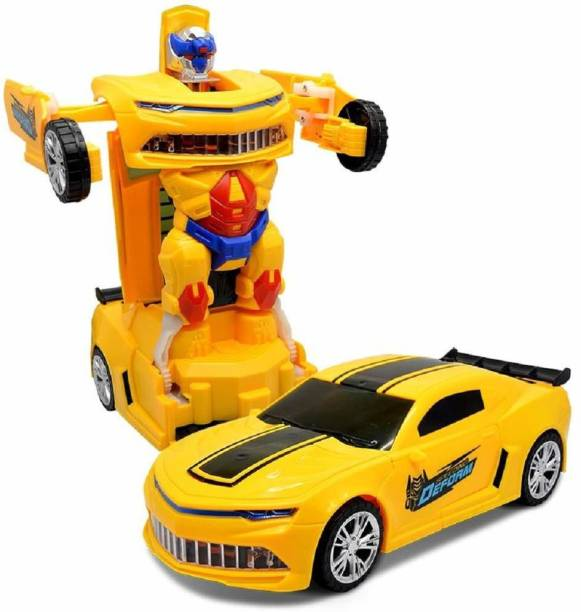 Toysale Transformer Robot Converting To Super Car Transforming Toy