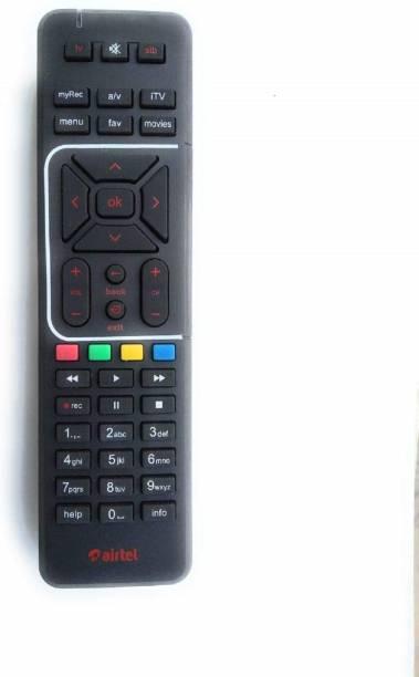 Airtel Regular Digital TV SD/HD DTH Compatible Remote UNIVERSAL Remote Controller