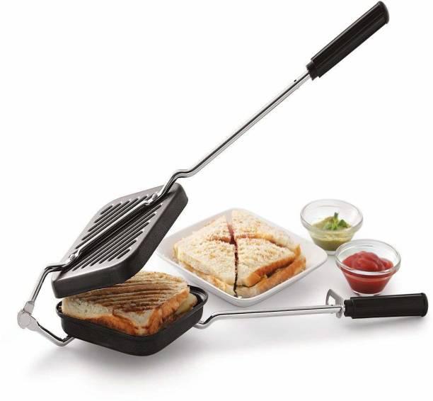 QAKVI Non Stick Gas sandwich Toaster Grill