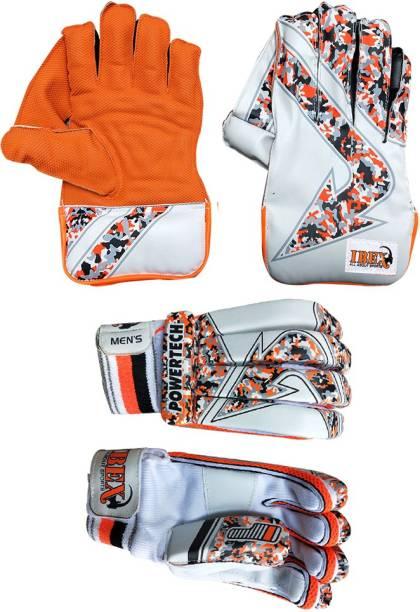 IBEX Orange Wicket Keeping Gloves Wicket Keeping Gloves