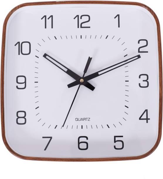 Smile2u Retailers Analog 23 cm X 23 cm Wall Clock