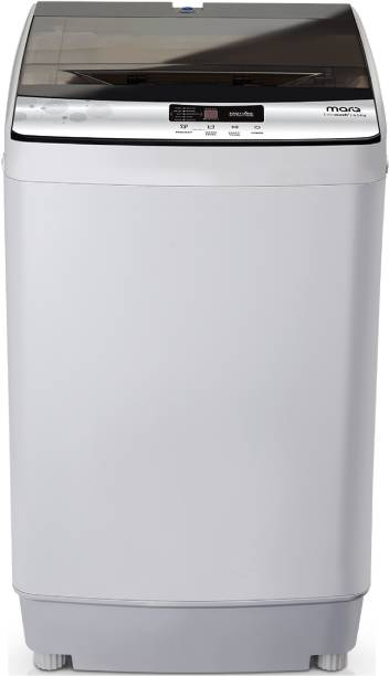 MarQ By Flipkart 6.5 kg with Twin Shower Technology Fully Automatic Top Load Grey