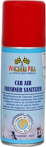 Wonderfill Car Air Freshner Sanitizer Portable Car Air Purifier