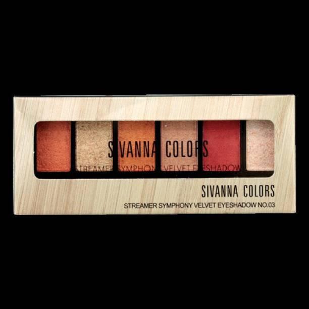 Sivanna Colors Velvet Eyeshadow 1.5 g