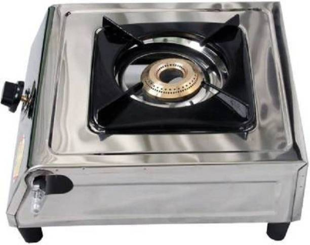 I-SOUL Classic Heavy Quality Single Stainless Steel Manual Gas Stove