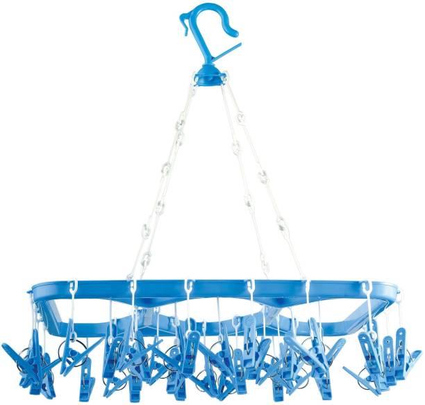 Arisers Plastic 36 Clip Square Hanger, Square shape cloth hanger Plastic Cloth Clips